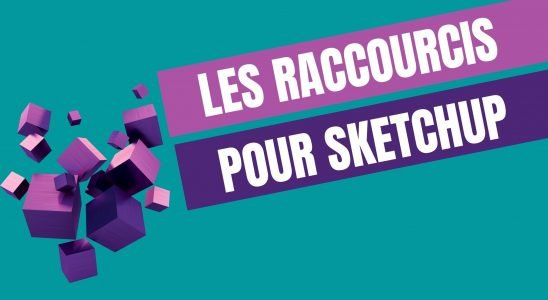 raccourci clavier sketchup